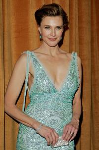 Brenda Strong at the Weinstein Co. Golden Globe after party.