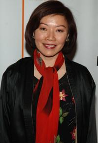 Elizabeth Sung at the premiere of