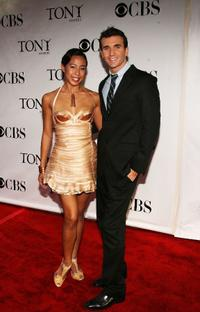 Mayumi Miguel and Charlie Sutton at the 62nd Annual Tony Awards.