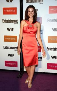 Jennifer Taylor at the Entertainment Weekly And Women In Film's Pre-Emmy party.
