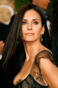 Courteney Cox Arquette at the 64th Annual Golden Globe Awards.