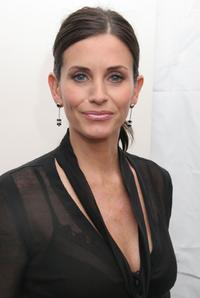 Courteney Cox Arquette at the Olympus Fashion Week.