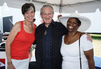 Recording Artists Marcia Ball, Charles Musselwhite and Irma Thomas at the Day 6 of 2011 New Orleans Jazz & Heritage Festival in New Orleans.