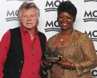 Irma Thomas and Guest at the Mojo Honors List 2008 Award ceremony.