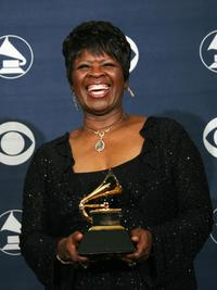 Irma Thomas at the 49th Grammy Awards.