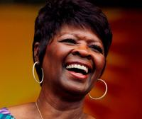 Irma Thomas at the New Orleans Jazz & Heritage Festival.