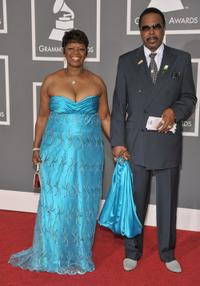 Irma Thomas and Guest at the 51st Annual Grammy Awards.