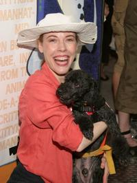 Veanne Cox at the Sixth Annual Broadway Barks Adoption Event.