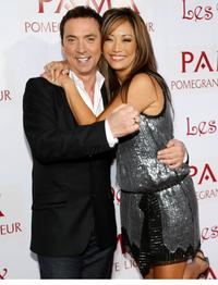 Bruno Tonioli and Carrie Ann Inaba at the Carrie Ann Inaba's birthday party.