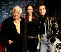 Antonio Carluccio, Laura Espsoto and Bruno Tonioli at the world premiere of