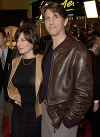 Stefanie Pleet and Peter Coyote at the premiere of