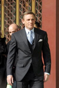 Daniel Craig at the Seoul premiere of ''Casino Royale.''