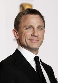 Daniel Craig at the Orange British Academy Film Awards in London.