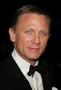 Daniel Craig at the 2007 Vanity Fair Oscar Party in West Hollywood.