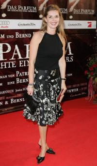 Dana Vavrova at the world premiere of
