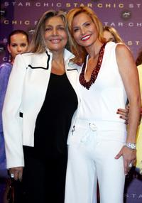 Mara Venier and Simona Ventura at the Star Chic new collection launch.