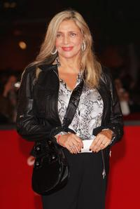 Mara Venier at the premiere of