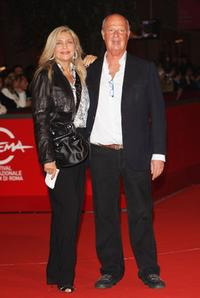 Mara Venier and Guest at the premiere of