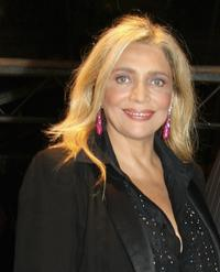 Mara Venier at the Steps And Stars Award during the Rome Film Festival.