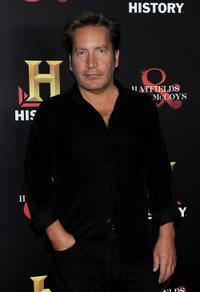 Ronan Vibert at the History Channel's Pre-Emmy party in California.