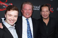 Noel Fisher, Tom Berenger and Ronan Vibert at the Hollywood Reporter & The History Channel premiere of
