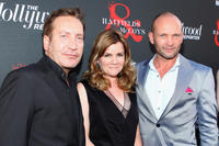 Ronan Vibert, Mare Winningham and Andrew Howard at the Hollywood Reporter & The History Channel premiere of