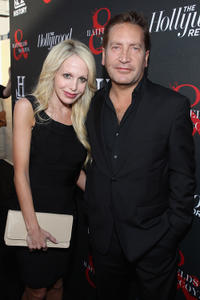 Ronan Vibert and Guest at the Hollywood Reporter & The History Channel premiere of