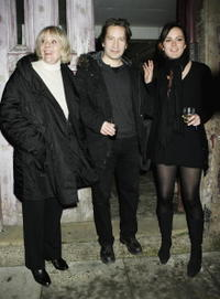 Diana Rigg, Ronan Vibert and Rachael Stirling at the Uncle Vanya after party.
