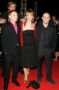 Florian Lukas, Heike Makatsch and Jurgen Vogel at the premiere of