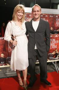 Heike Makatsch and Jurgen Vogel at the premiere of
