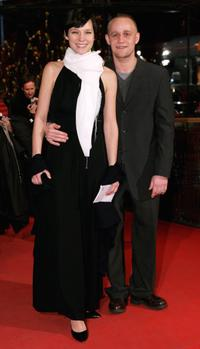 Sabine Timoteo and Jurgen Vogel at the Golden Bear Award Gala during the 56th Berlin International Film Festival.