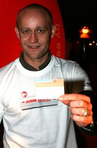 Jurgen Vogel at the MTV Meets Junge Helden Charity Event.