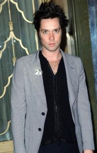 Rufus Wainwright at the Marc Jacobs runway show during London fashion week.