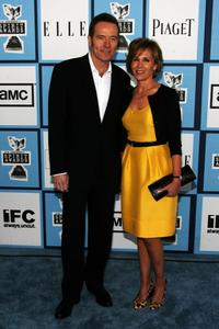 Bryan Cranston and Robin Dearden at the 2008 Film Independents Spirit Awards.