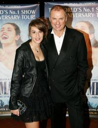 Bella Westaway and Simon Westaway at the premiere of