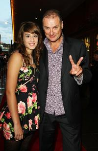 Bella Westaway and Simon Westaway at the Sydney opening night of