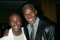 Norman Alexander Gibbs and Al White at the California screening of