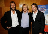 Andrew Wilson, Owen Wilson and Luke Wilson at the premiere of
