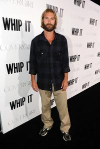 Andrew Wilson at the premiere of