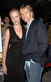 Alison Eastwood and James Wlcek at the world premiere of