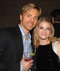 James Wlcek and Rachel Gibbs at the after party of the world premiere of