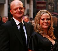 Jake Wood and Jo Joyner at the British Academy Television Awards 2008.