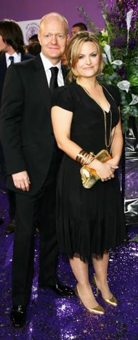 Jake Wood and Jo Joyner at the British Soap Awards 2008.