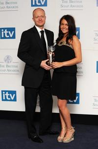 Jake Wood and Lacey Turner at the British Soap Awards 2008.