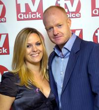 Jo Joyner and Jake Wood at the TV Quick & TV Choice awards.