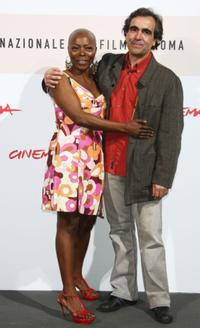 Felicite Wouassi and Director Francois Dupeyron at the photocall of