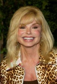 Loni Anderson attends a reception after the ceremony honoring actors Penny Marshall and Cindy Williams.