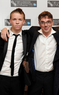 Will Poulter and Charlie Creed-Miles at the London premiere of