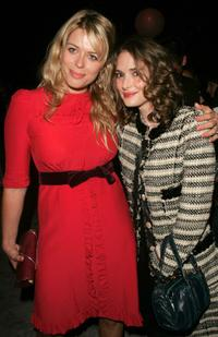 Amanda de Cadenet and Winona Ryder at the Marc Jacobs after party during the Olympus Fashion Week Spring 2005.