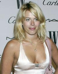 Amanda de Cadenet at the W Magazine's Golden Globe Glamour Party.